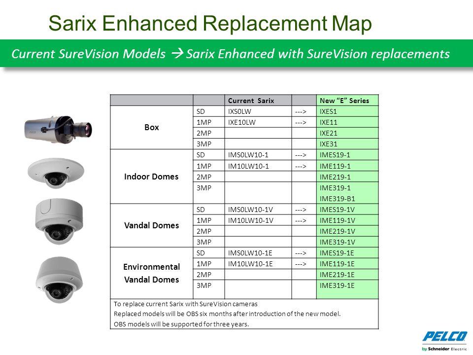 Sarix Enhanced Replacement Map