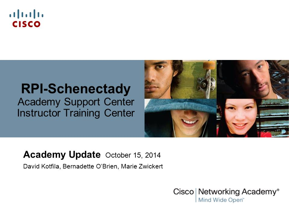 RPI-Schenectady Academy Support Center Instructor Training Center