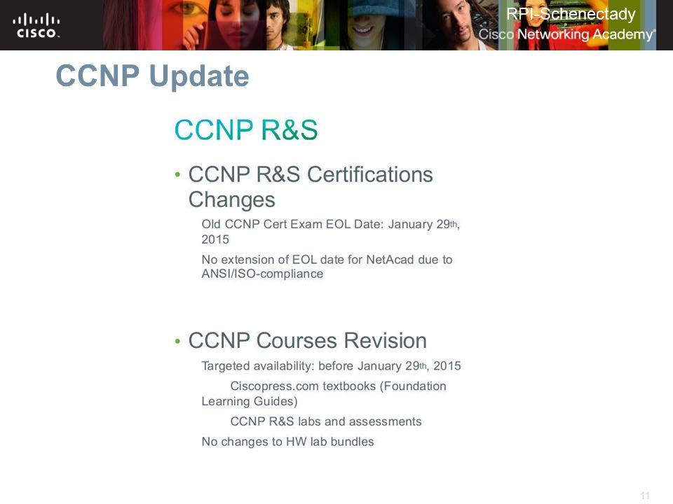 CCNP Update