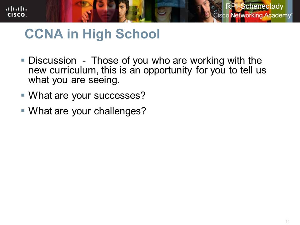 CCNA in High School