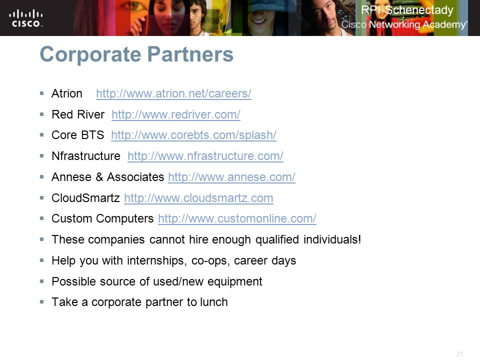 Corporate Partners Atrion http://www.atrion.net/careers/