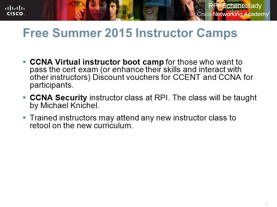 Free Summer 2015 Instructor Camps