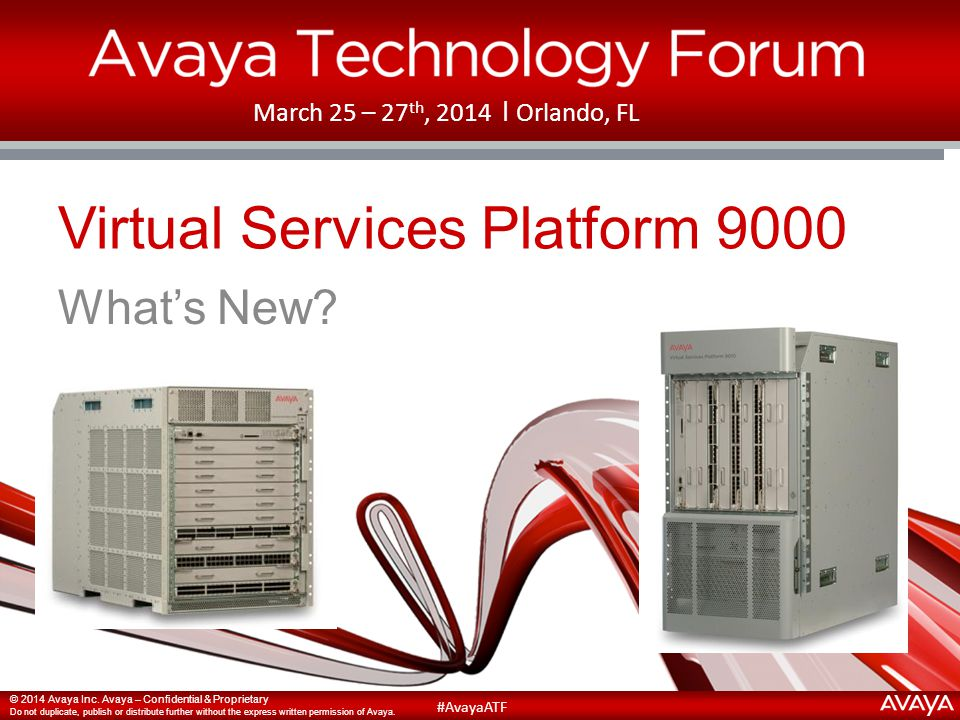 Virtual Services Platform 9000