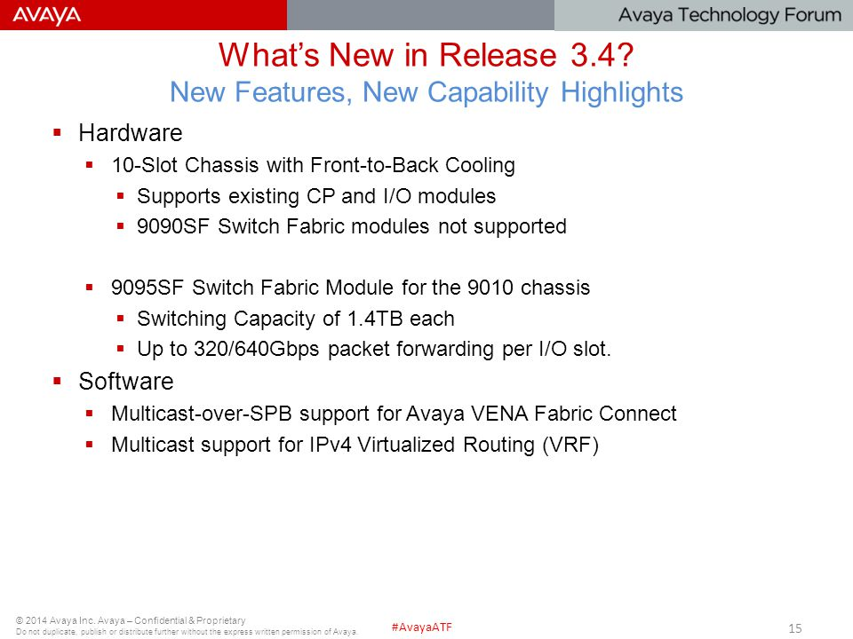 What's New in Release 3.4 New Features, New Capability Highlights