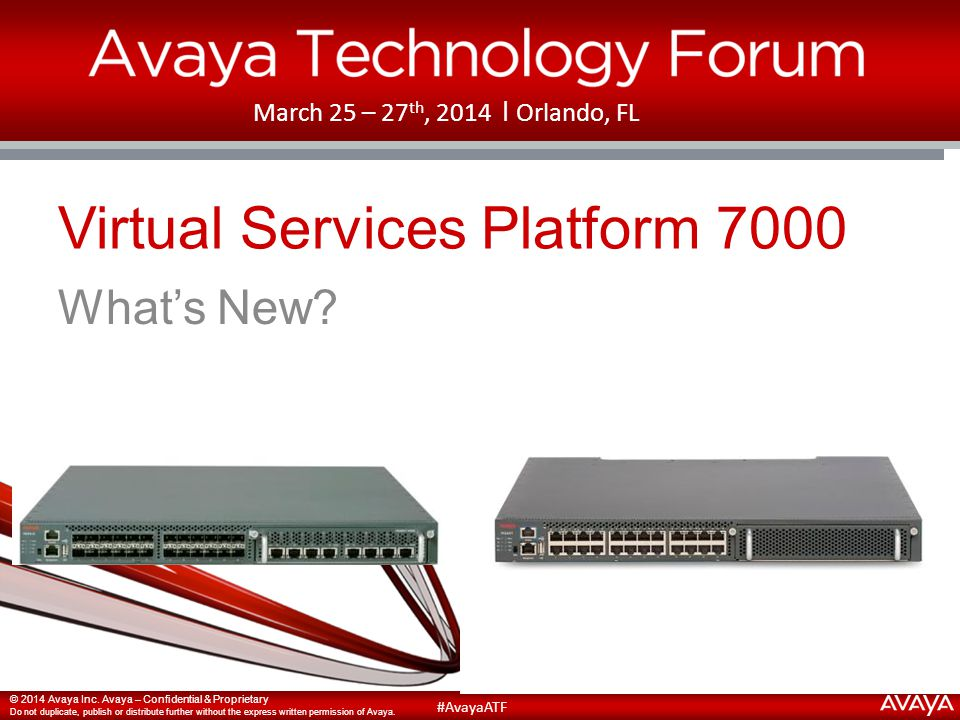 Virtual Services Platform 7000