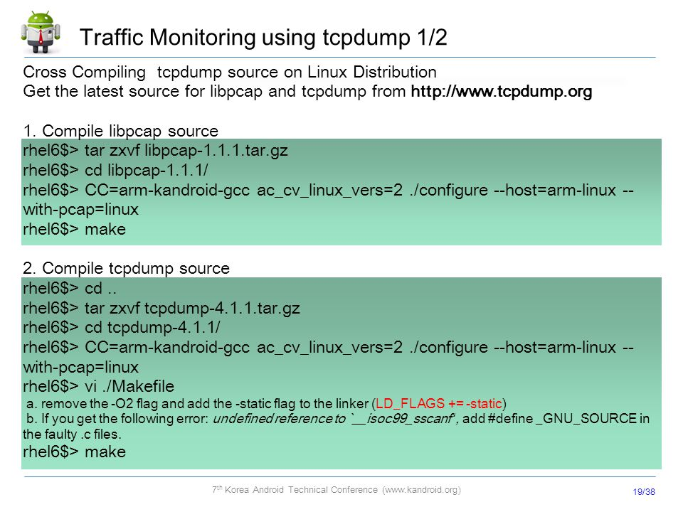 Traffic Monitoring using tcpdump 1/2