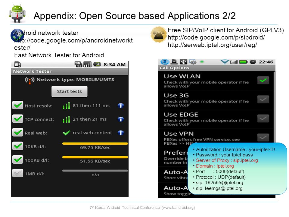 Appendix: Open Source based Applications 2/2