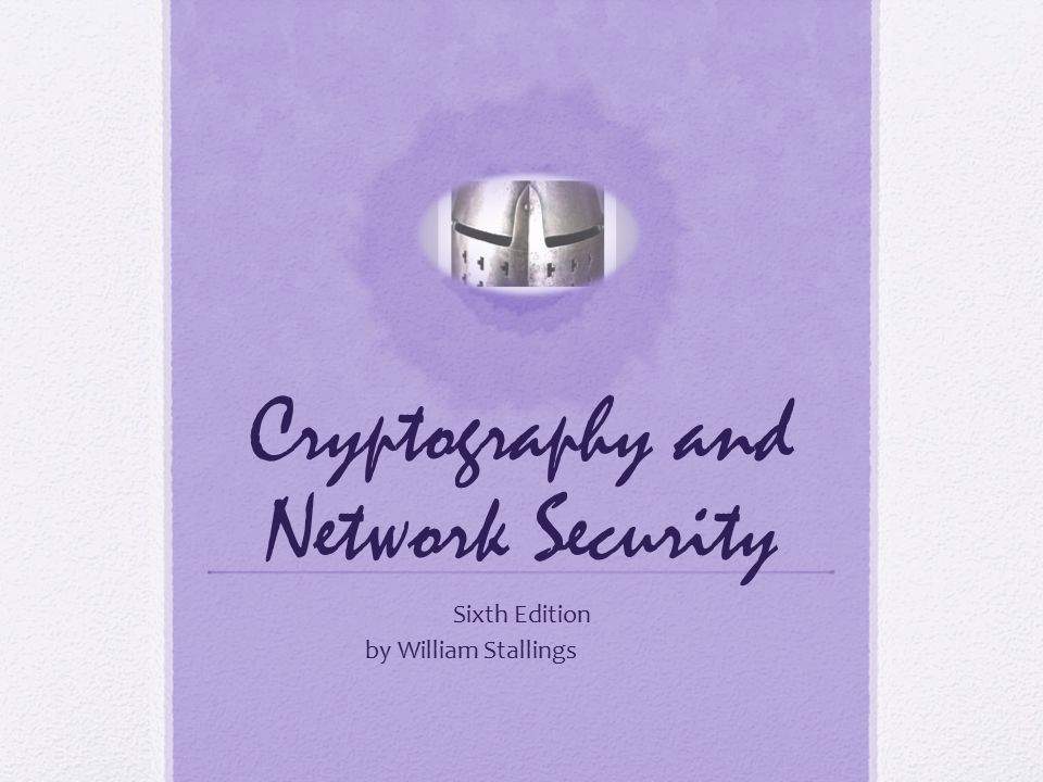 networking security and cryptography Cryptography and network security by prof d mukhopadhyay, department of computer science and engineering, iit kharagpur for more details on nptel visit ht.