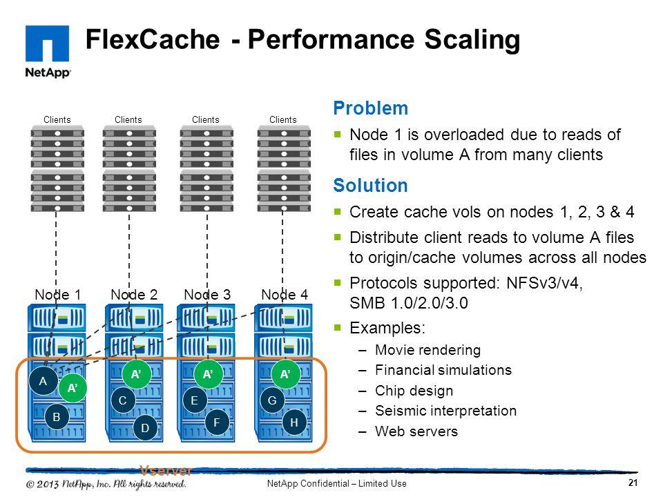FlexCache - Performance Scaling