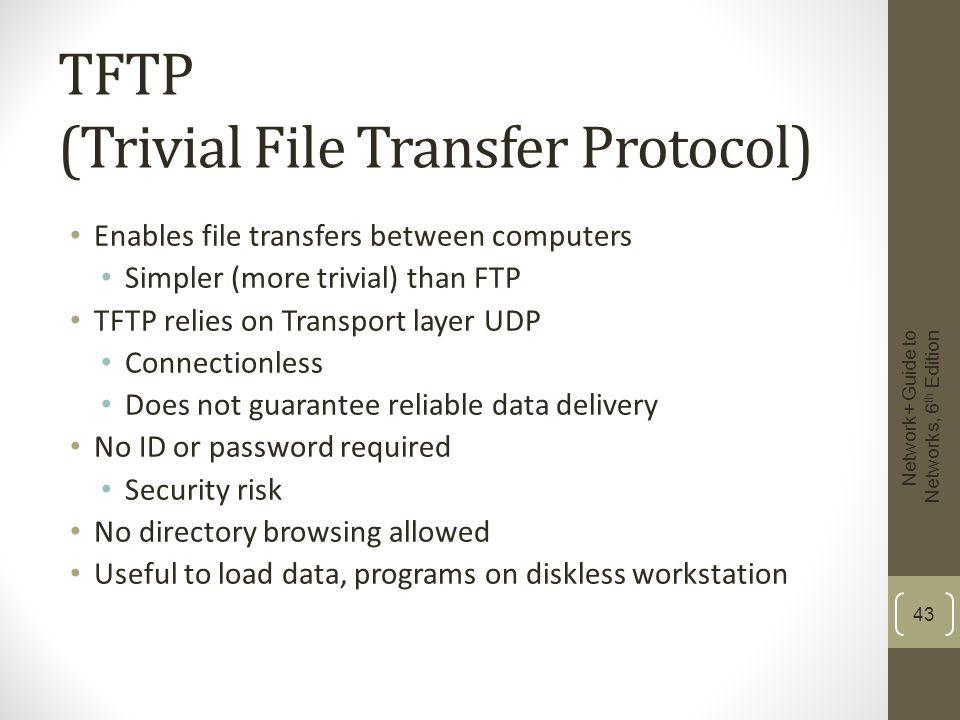 TFTP (Trivial File Transfer Protocol)