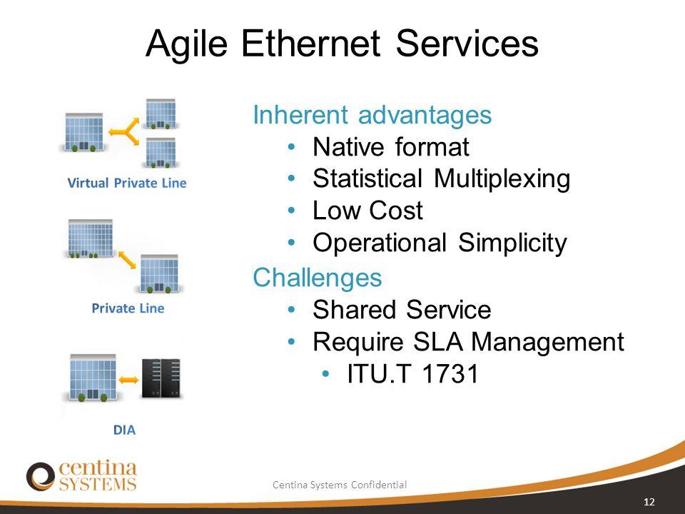 Agile Ethernet Services