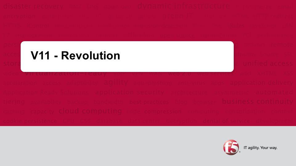 V11 - Revolution