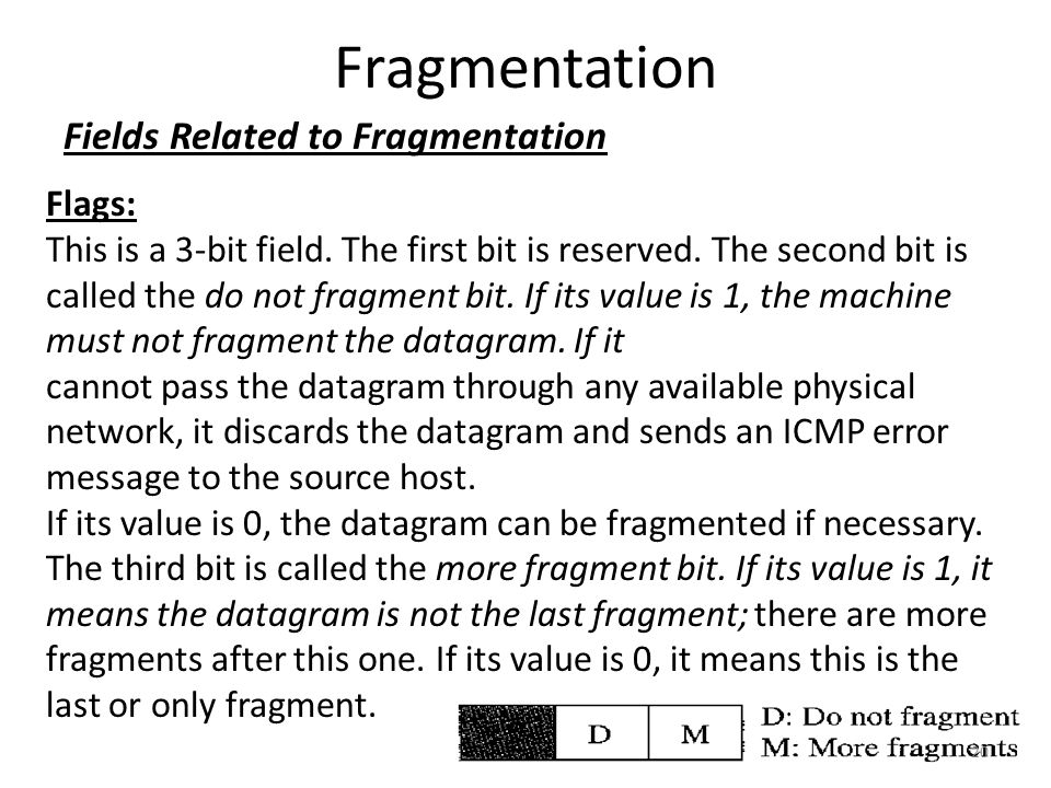 Fragmentation Fields Related to Fragmentation Flags: