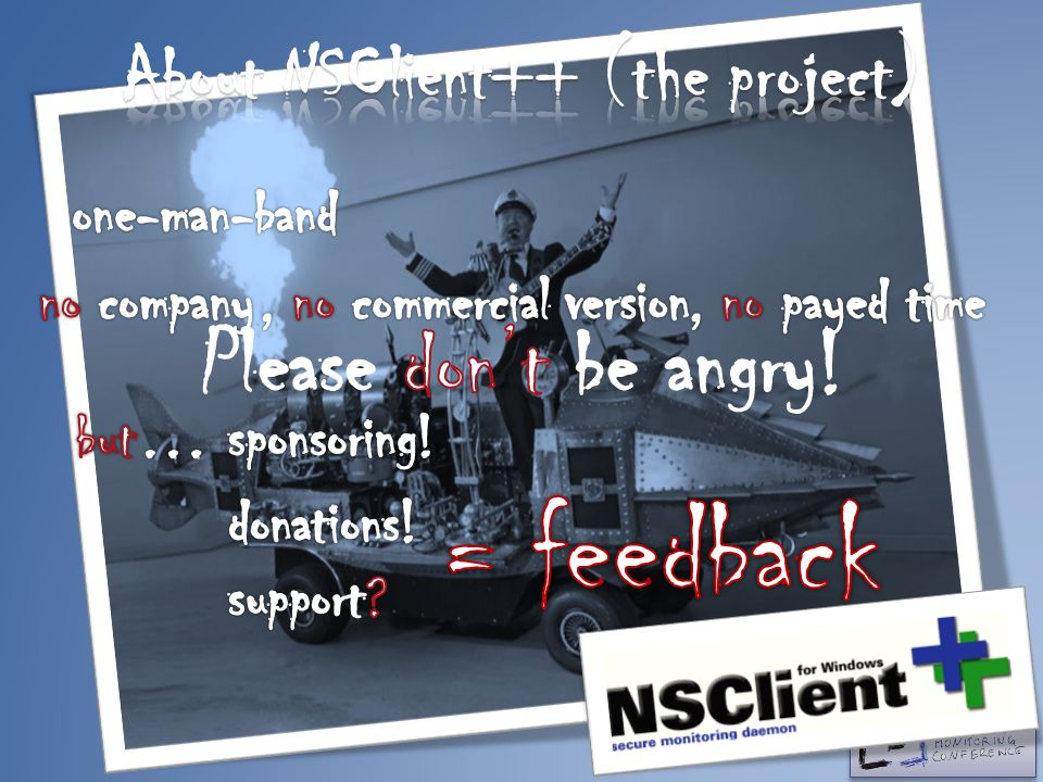 About NSClient++ (the project)