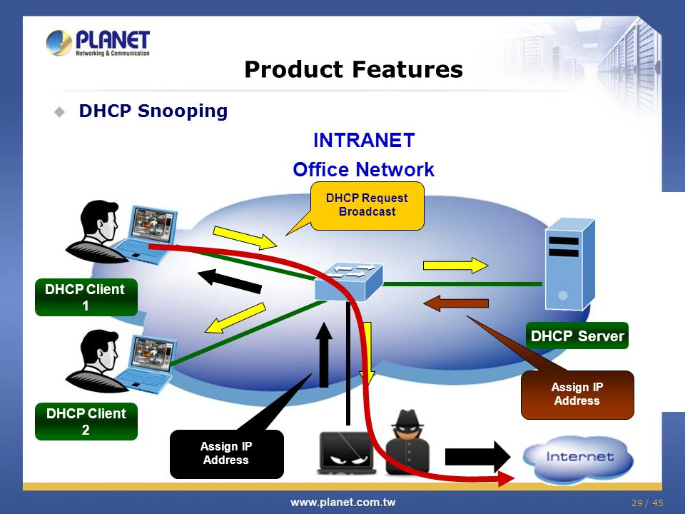 DHCP Request Broadcast