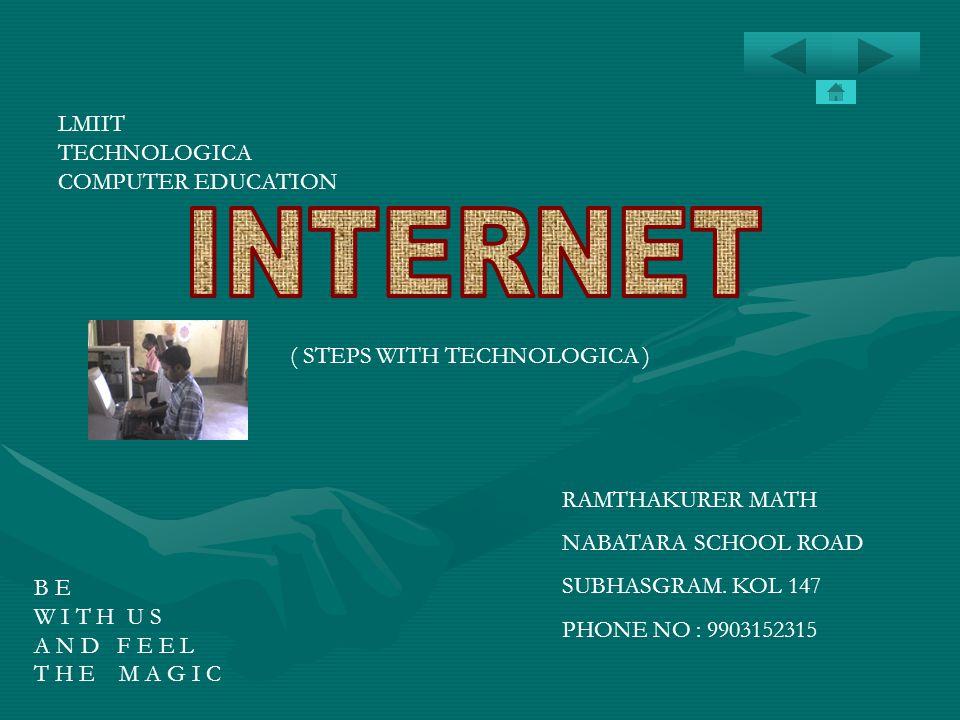 INTERNET LMIIT TECHNOLOGICA COMPUTER EDUCATION