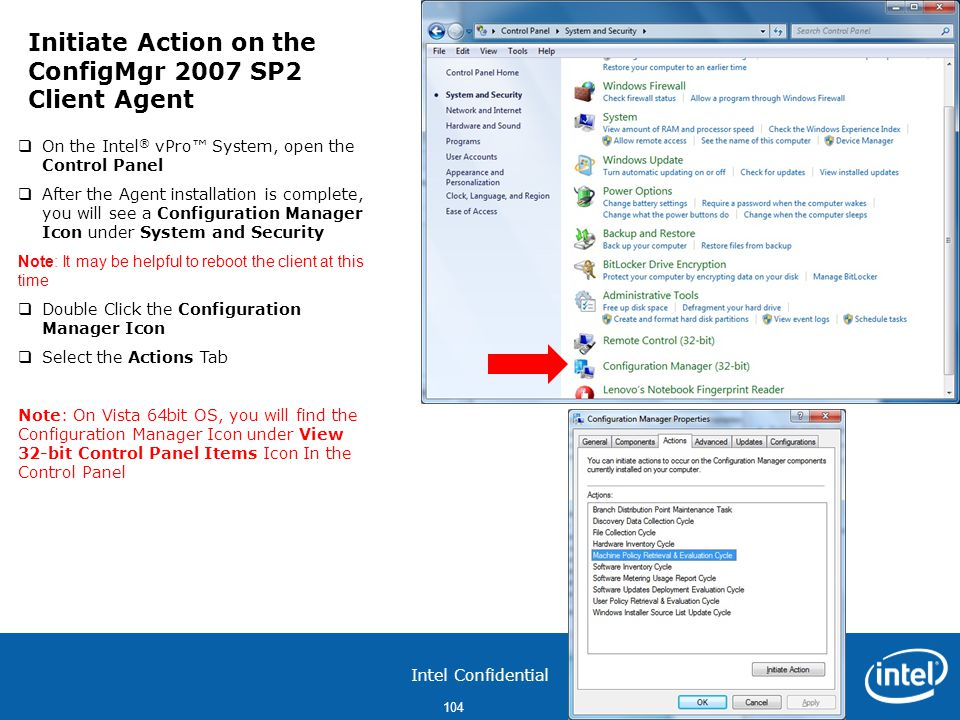 Initiate Action on the ConfigMgr 2007 SP2 Client Agent