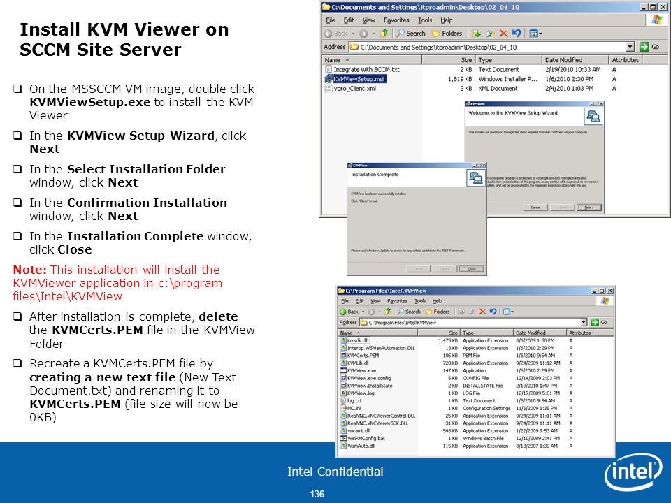 Install KVM Viewer on SCCM Site Server