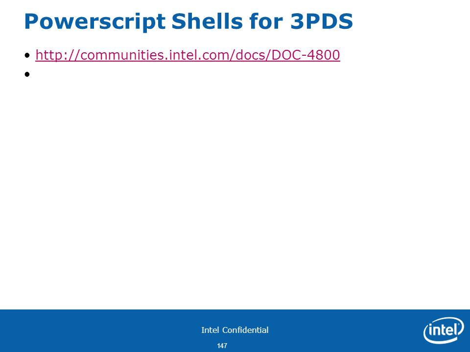 Powerscript Shells for 3PDS