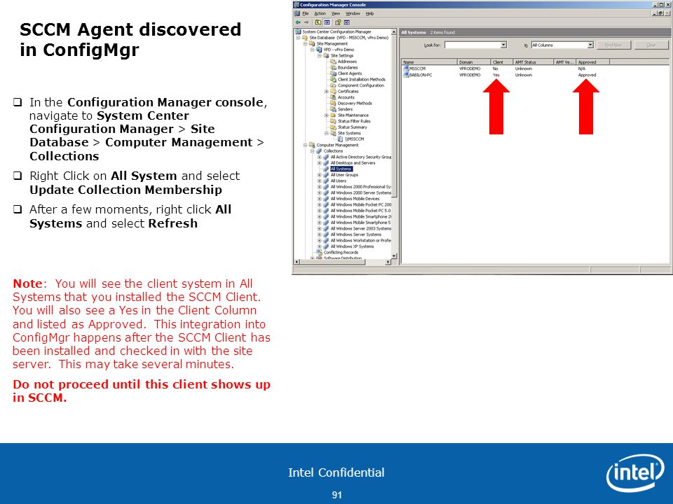 SCCM Agent discovered in ConfigMgr