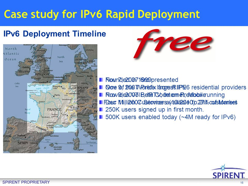 Case study for IPv6 Rapid Deployment