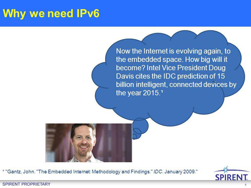 Why we need IPv6