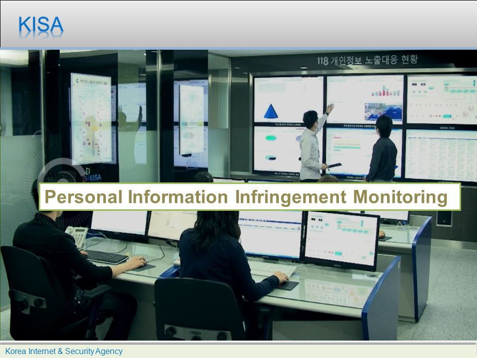 KISA Personal Information Infringement Monitoring