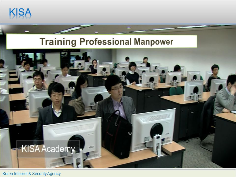 Training Professional Manpower