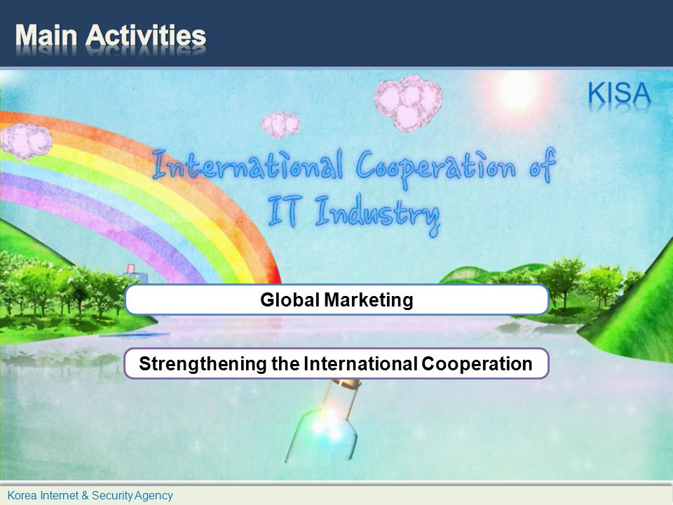 Strengthening the International Cooperation