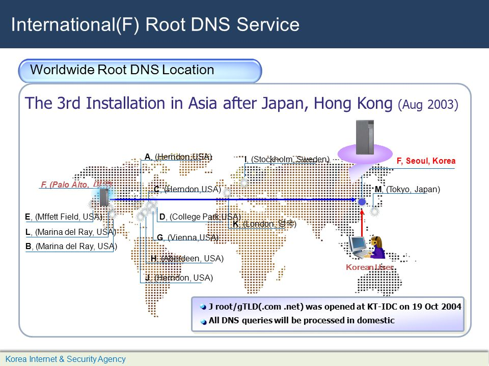 International(F) Root DNS Service