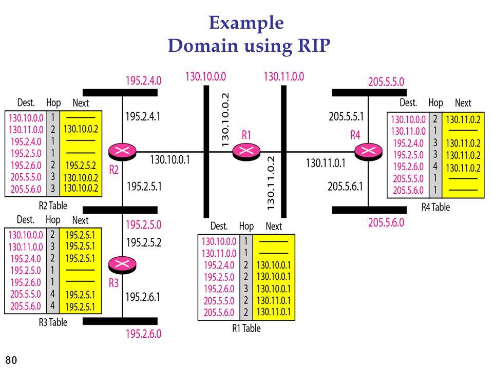 Example Domain using RIP