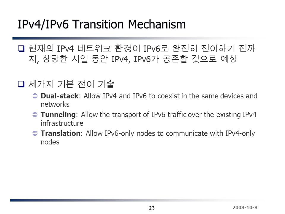 how to write a ipv4 in dual stack