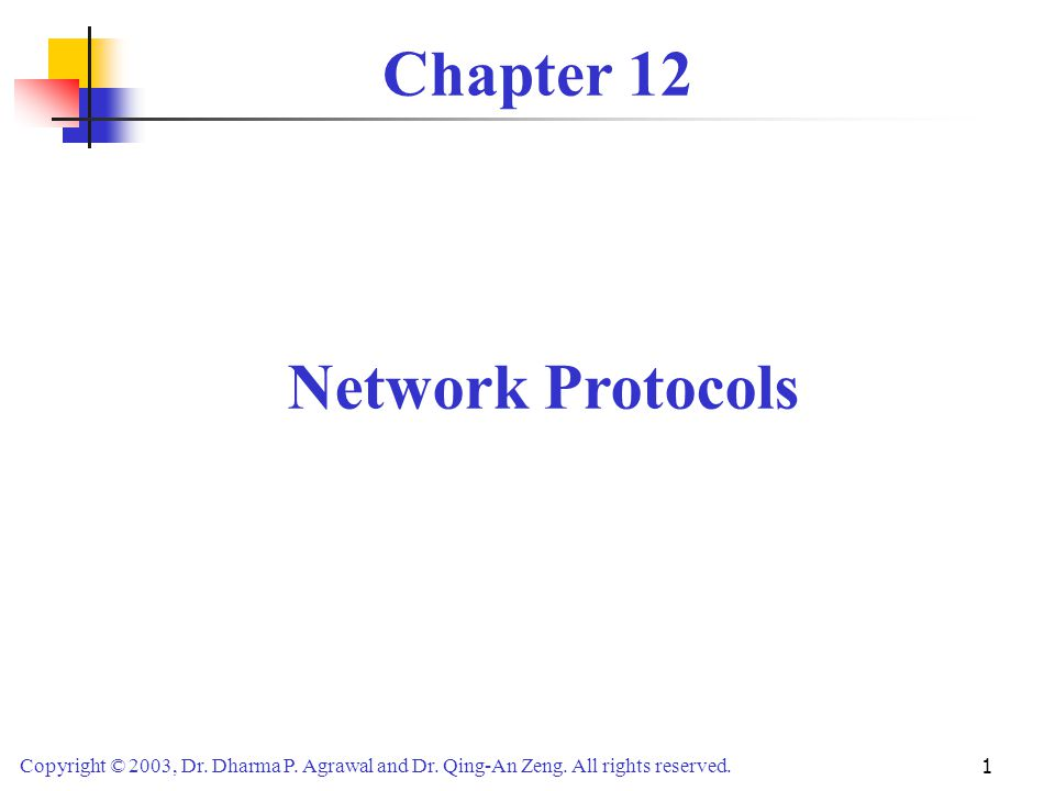 Chapter 12 Network Protocols