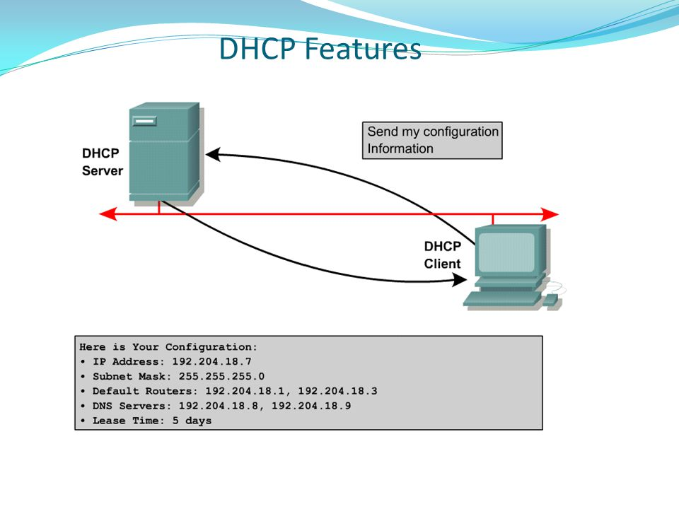 DHCP Features