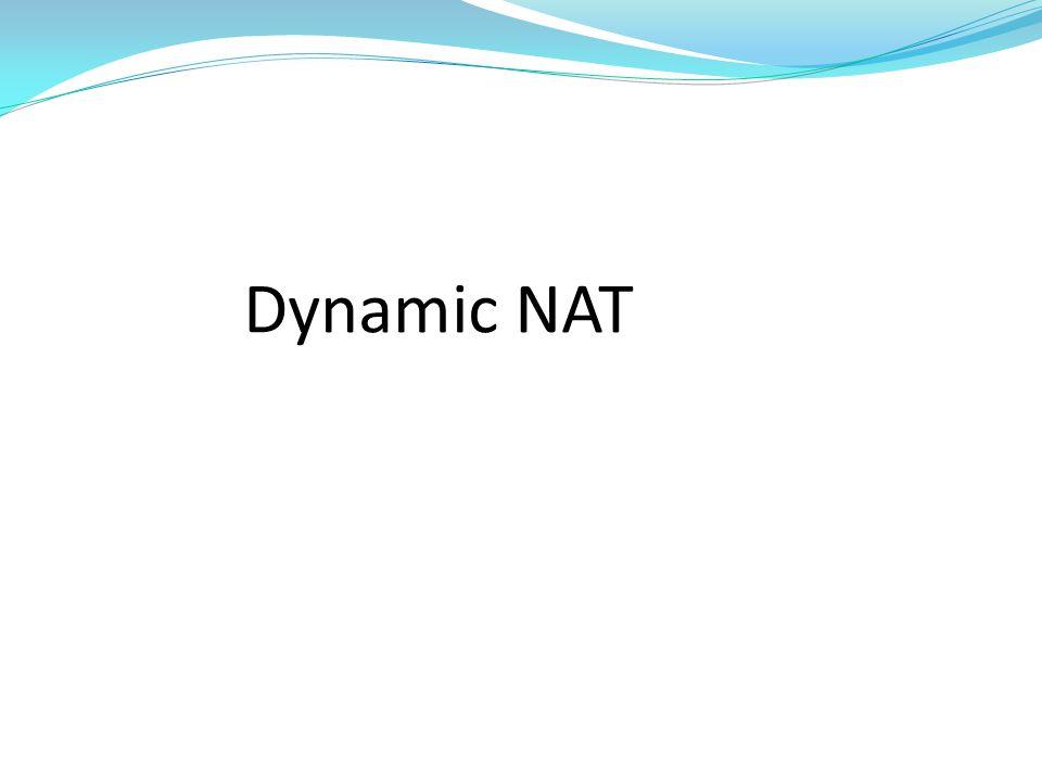 Dynamic NAT