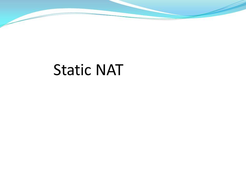 Static NAT