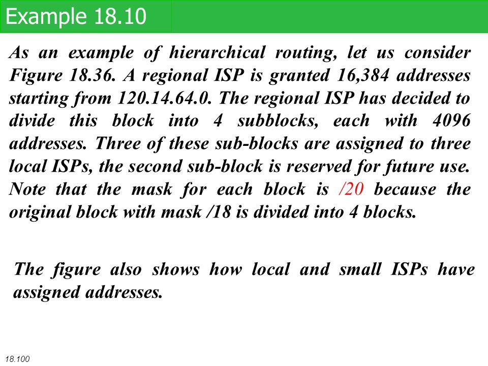Example 18.10