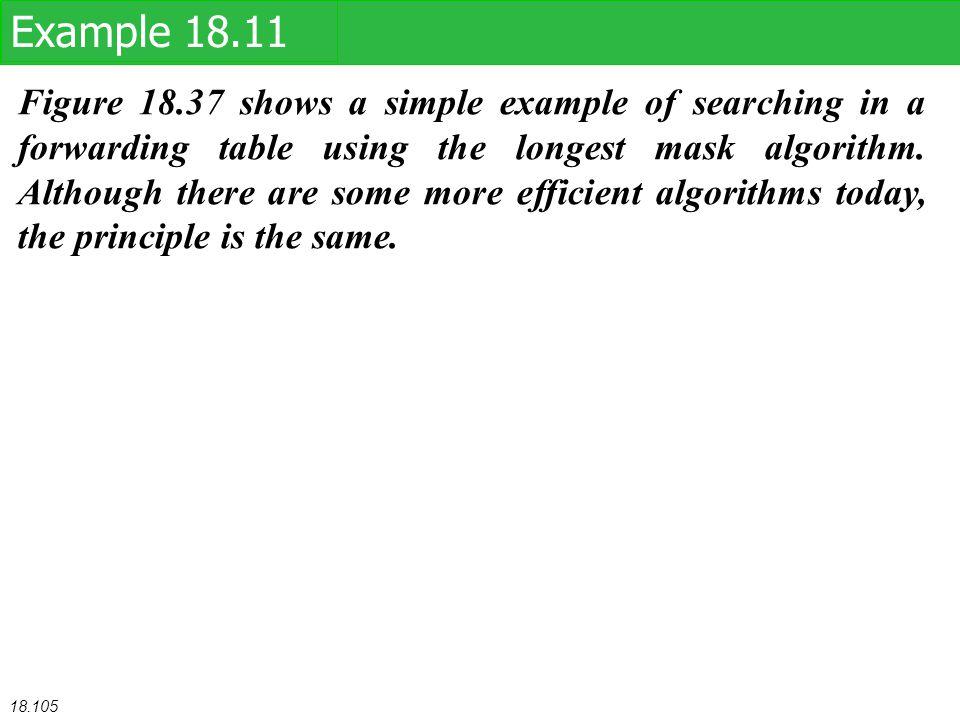 Example 18.11