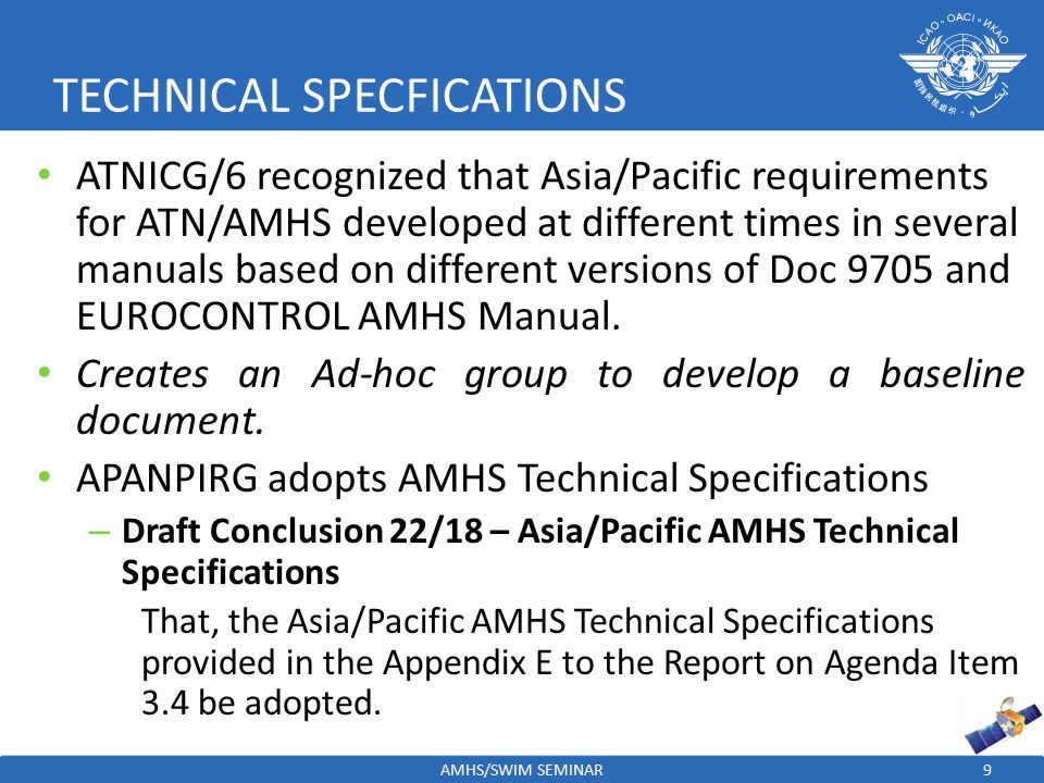 TECHNICAL SPECFICATIONS