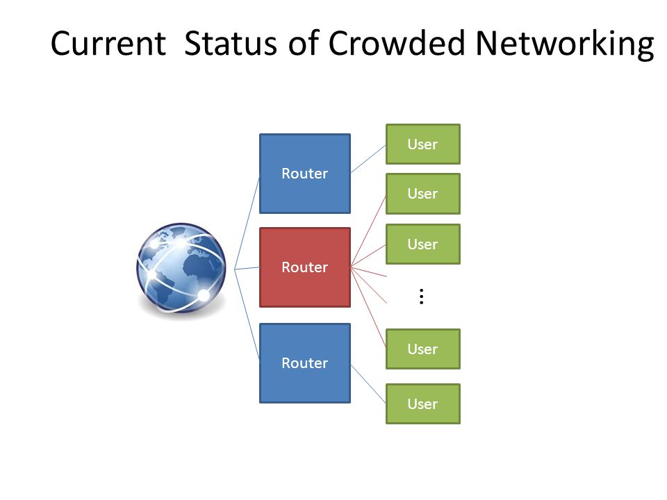 Current Status of Crowded Networking