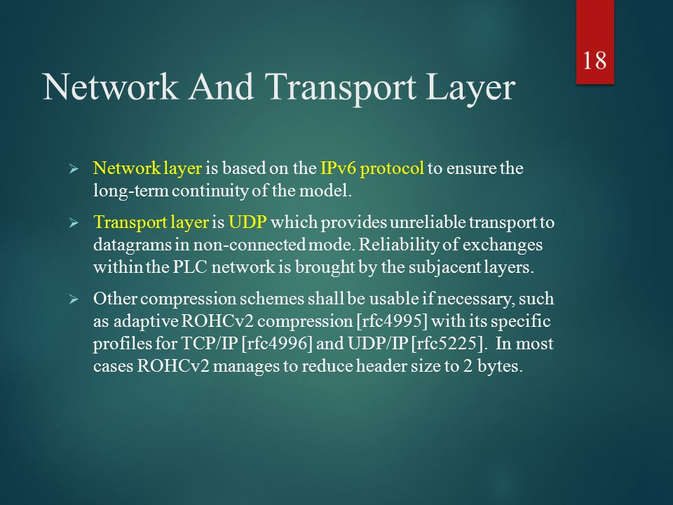 Network And Transport Layer