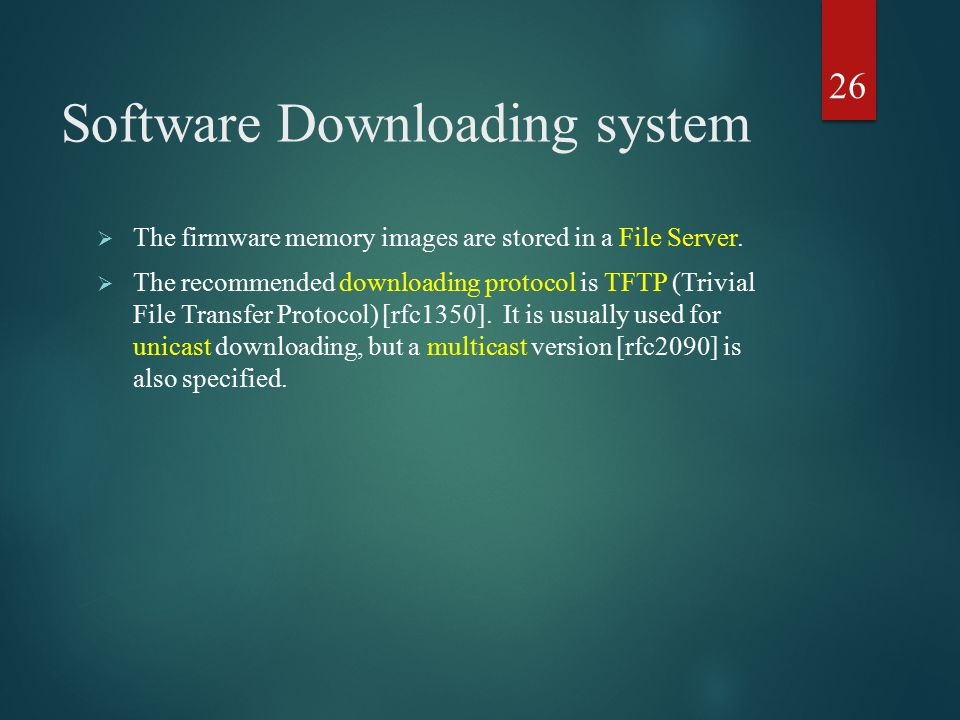 Software Downloading system