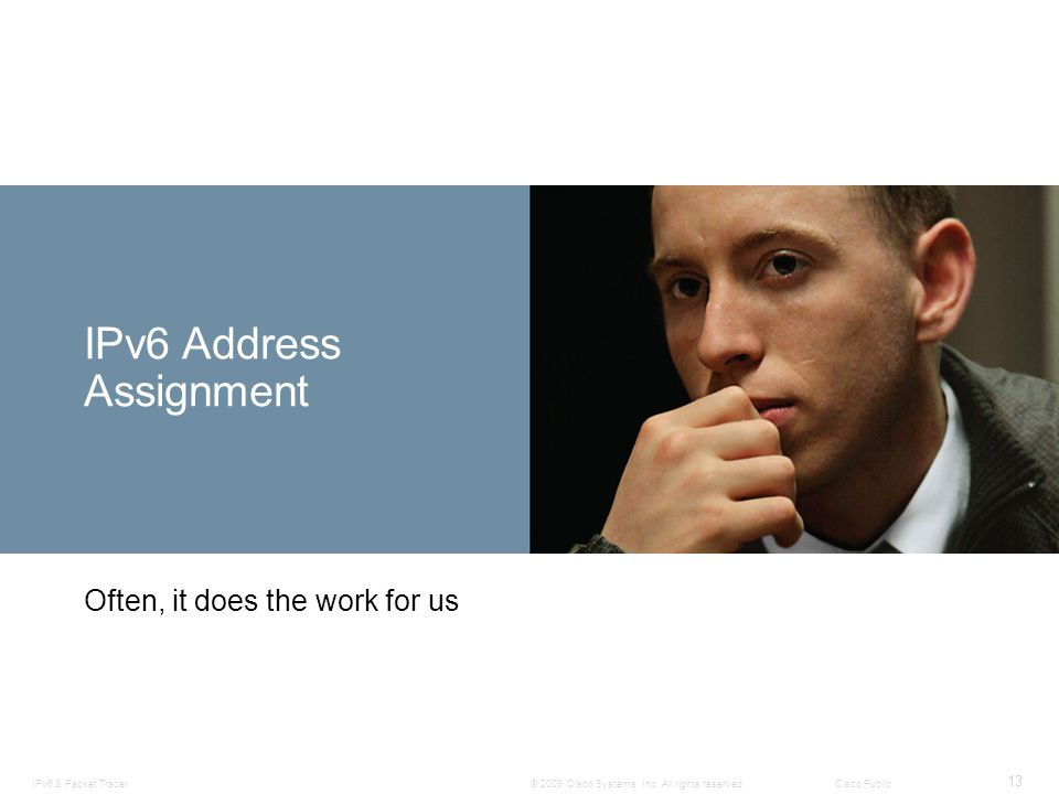 IPv6 Address Assignment