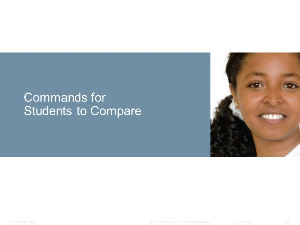 Commands for Students to Compare