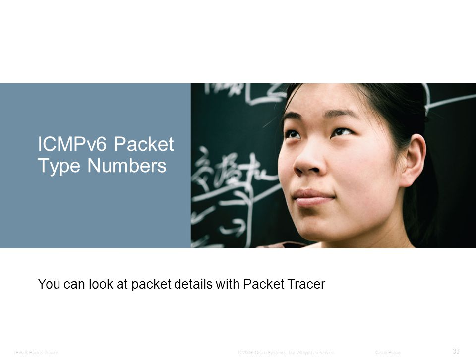 ICMPv6 Packet Type Numbers