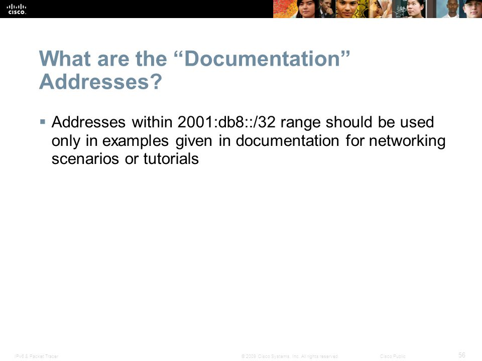 What are the Documentation Addresses