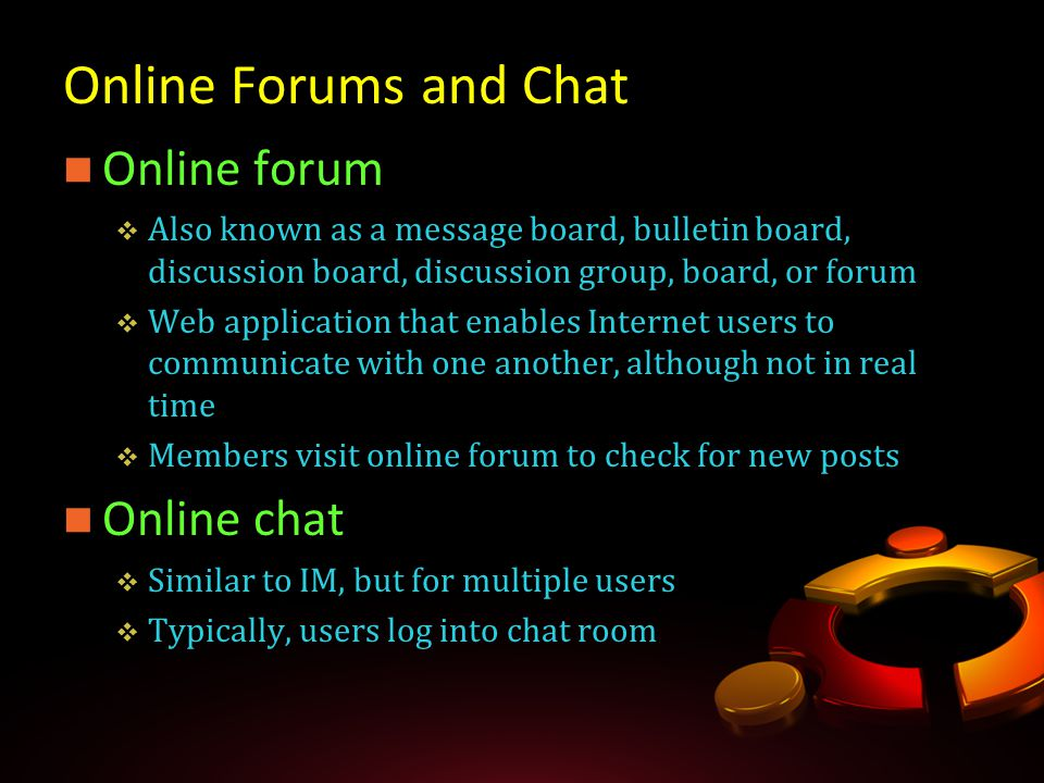 User chat lotro forum