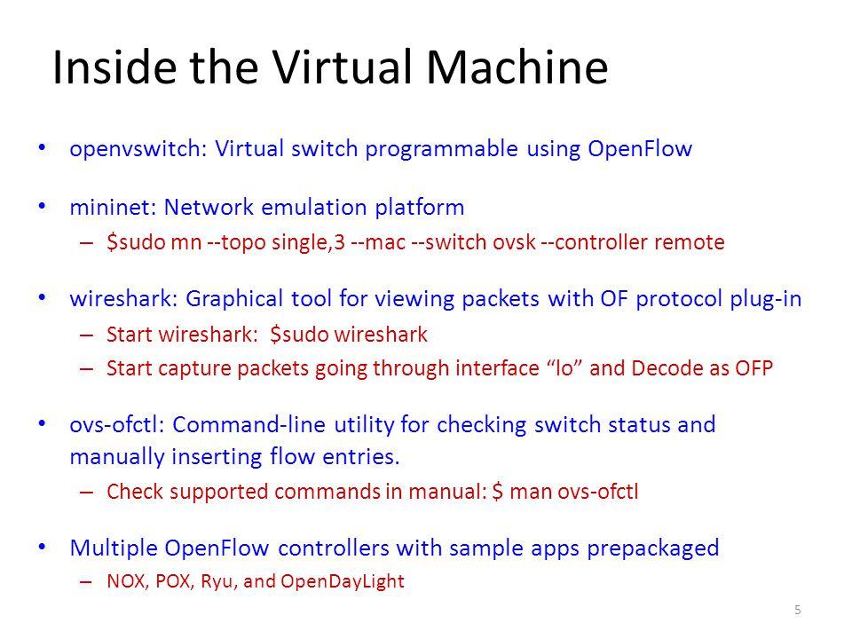 Inside the Virtual Machine