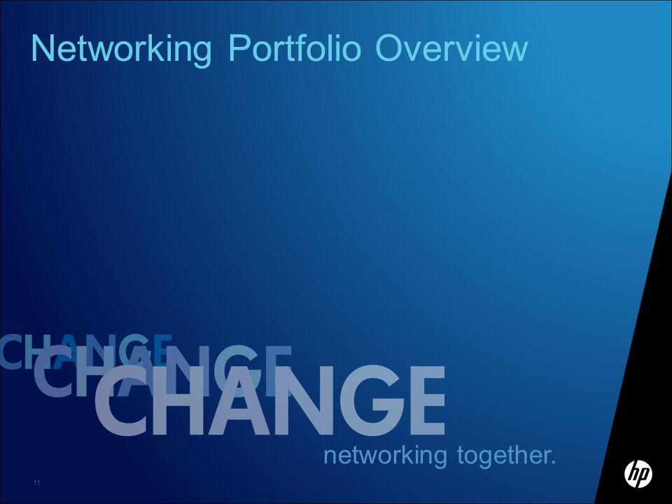 Networking Portfolio Overview