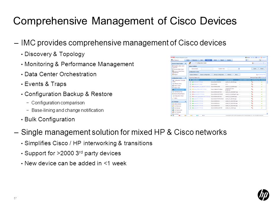 Comprehensive Management of Cisco Devices